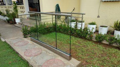 All Glass Aluminum Balustrades