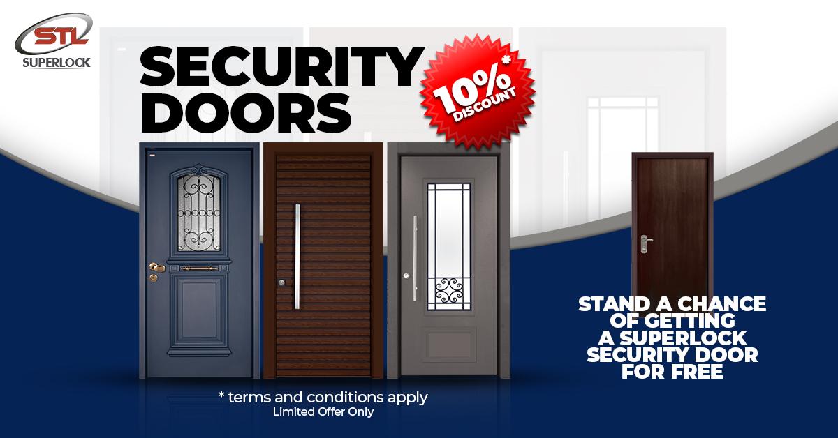 Get Your Free Security Door Now