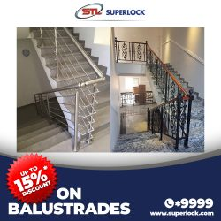 Up to 15% OFF (Balustrades)