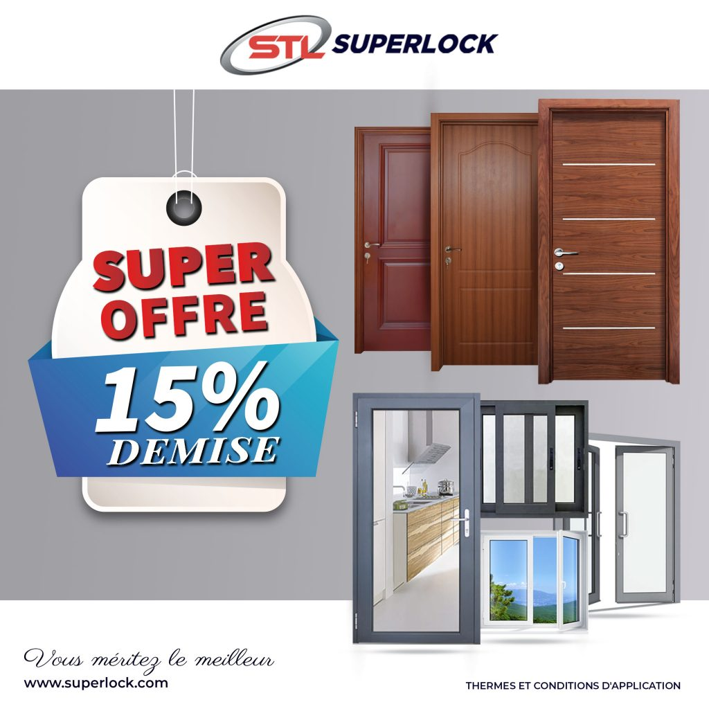 Super Offre 15% Demise