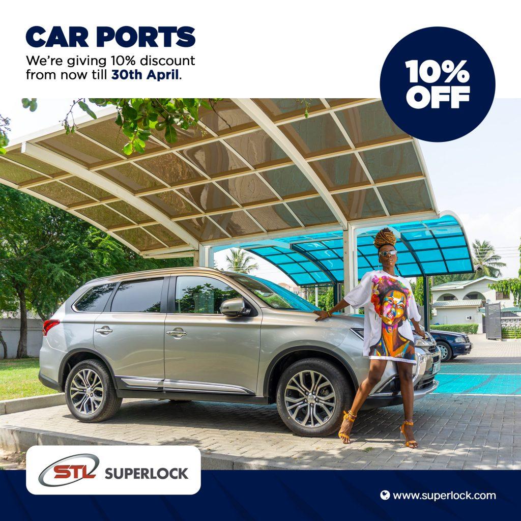 Offre de 10% de réduction – Carport (Abri  d'auto)